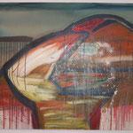 Alien, Acryl , 120 cm x 120 cm