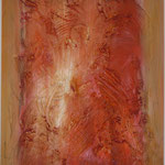 Rahmung, Acryl mit Spachtel, 80 cm x 60 cm