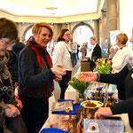 Begehrtes Kakao-Konfekt anlässlich Ernst Ludwigs 150sten Geburtstags. Foto von Petra Ihm-Fahle - Ernst-Ludwig-Buchmesse 2018
