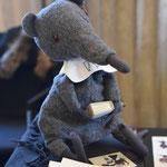Standnachbar von Sonja Böckmann: Ratte Remmer von Gilsela Kahlow. Foto von Lutz Böckmann - Ernst-Ludwig-Buchmesse 2018