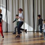 Lesungen von Kinderbuchautoren und Kindertanz in der Tanzschule Wehrheim Gierok. Foto von Corinna Weigelt - Ernst-Ludwig-Buchmesse 2018