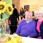 Kinderbuchautorin Siglinde Rüppel und ihr Mann. Foto von Petra Ihm-Fahle - Ernst-Ludwig-Buchmesse 2018