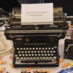 Eine alte Schreibmaschine - Symbol des geschriebenen Wortes. Foto von Lutz Böckmann - Ernst-Ludwig-Buchmesse 2018