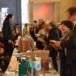 Büchermeile - Autoren und Besucher - Foto von Corinna Weigelt - Ernst-Ludwig-Buchmesse 2018