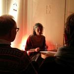 Lesekur mit Dr. Jasmin Behrouzi-Rühl im Fürstenbad des Badehauses 7. Foto von Beatrix van Ooyen - Ernst-Ludwig-Buchmesse 2018