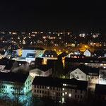 Bad Berleburg: Ausblick bei Nacht