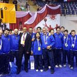 """Team Leader M"""" Xu, Valentina e Nazionale Italiana ai Mondiali Giovanili in Turchia 2014"""