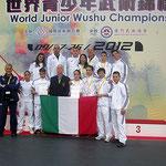 """Team Leader M"""" Xu, Valentina e Nazionale Italiana ai Mondiali Giovanili in Macao 2012"""