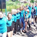 """KSB LUP; Schüler- Drachenbootrennen, 27.06.2019, Team """"Höppi´s Puschis"""""""