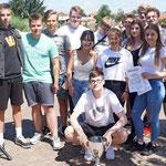 """KSB LUP; Schüler- Drachenbootrennen, 27.06.2019; Team """"Radaudampfer"""""""