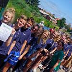 """KSB LUP; Schüler- Drachenbootrennen, 27.06.2019, Team """"Pauer heros"""""""