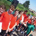 """KSB LUP; Schüler- Drachenbootrennen, 27.06.2019; Team """"Die Pinacolladies"""""""