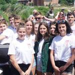 """KSB LUP; Schüler- Drachenbootrennen, 27.06.2019, Team """"Die Wildkuhpiraten"""""""