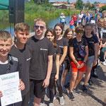 """KSB LUP; Schüler- Drachenbootrennen, 27.06.2019, Team """"Die Dörners"""""""