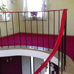 Teppichverlegung mit genauer Anpassung