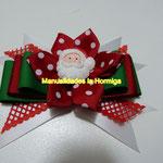 moños faciles navideños