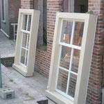 """Neue Fenster für die """"Alte Waage""""."""