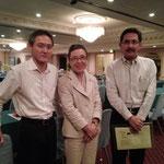 Mr.Satoshi SAKAI (OJSAT) & Prof.Akiko YAMADA (Tokyo International University)
