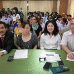 The Judges Ajarn Yasuyuki NIIMI, Tomoko HASHI and SPU-Japanese