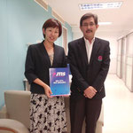 Ms.Makiko SEKI, Sales Manager & Director, Japan Tokyo International School