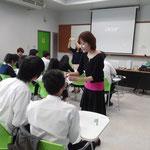 Ms. Sayako ARAMAKI visited Chandrakasem Rajabhat University (Jan 16, 2015)
