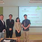 Sugiyama Jogakuen University & SPU-Japanese (Aj Aki TAKAHASHI & Asst. Prof. Yasumasa MORI)
