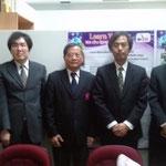 Prof. Dr. Susumu YONEZAWA & Assoc. Prof. Takuji TAKEMOTO, University of FUKUI