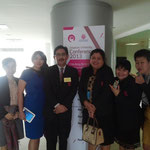 Asst.Prof.Yasumasa MORI with SIILC Colleague