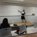 Ms. Sayako ARAMAKI (Japanese Language Class, Sripatum University Bangkhen main campus)
