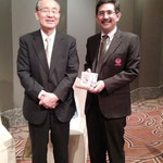 Mr.Shomei YOKOUCHI,Yamanashi Prefectural Governor and SPU-Japanese