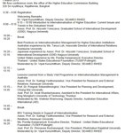 Programme for Seminar by SEAMEO RIHED (01 Mar, 2013)