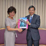 SPU President and Vice President, University of Fukui, Japan