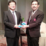 Mr.Yoshifumi FUJIMAKI, Director, International Affairs,Yamanashi Prefectural  Government and SPU-Japanese