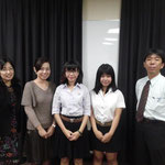 Presenters, The 219 Monthly Meeting, The Association of Japanese Language Education in Thailand