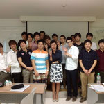 with Thai language teacher (International Institute of Languages and Cultures:SIILC)