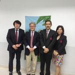 Prof.Keisuke MARUYAMA & Mr.Keiji SHINOMIYA from Doshisha Women's College of Liberal Arts
