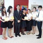 SPU-Japanese Students of Subject: JPN333 Japanese 3, Summer/2013 Session