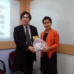 Assoc. Prof. Dr. Takuji TAKEMOTO, University of FUKUI, Japan