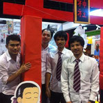 Booth of SPU-Japanese