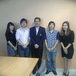 Ms.Alisa Sangratanachaukul, Mr.Nuttapon Pimolwetchakul, Mr.Worrasit Chiraratwaro and Ms.Nopparat Vithayasintana [Cpoint(Thailand)Corp.,Ltd.]