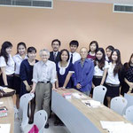 Bangkok Gogyohka Society with Japanese learners (Sripatum University)