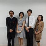 Ajarn Sirada Boonserm & Mr.Hidehiro KOBAYASHI from Dhurakij Pundit University