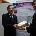 Assoc. Prof. Dr. Wiboon Boonyatharokul & Prof. Dr. Susumu YONEZAWA