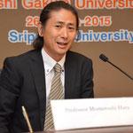 Prof.Momotoshi HARA from Yamanashi Gakuin University (YGU)