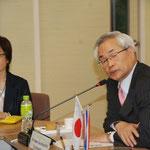 Prof.Ikuo MIYAMOTO & Ms.Sayuri TANAKA, Osaka International University