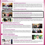 Newsletter by Office of International Relations, SPU