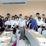 Bangkok Gogyohka Society with Japanese learners (Chandrakasem Rajabhat University)