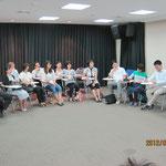 A Meeting surrounding Dr.Kumiko SAKODA 1