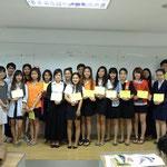 SPU-Japanese Students of Subjects: JPN211 Listening & Speaking 1 and JPN331 Japanese 1, Summer/2013