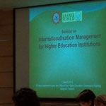 Seminar on Internationalization Management for Higher Education Institutions